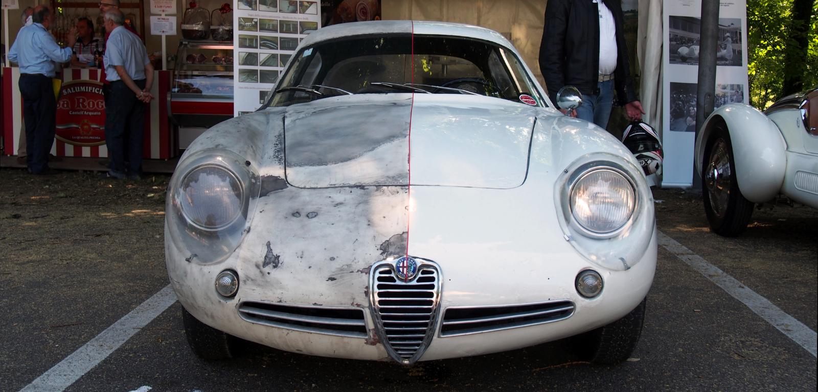 Alfa Romeo Giuletta SZ Coupe